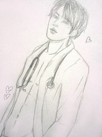 Dr. Jin sketch by Balandis-wow