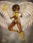 Winged Warrior by KiraTheArtist
