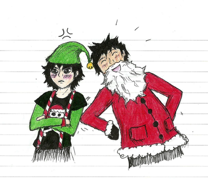 Merry Christmas demigods! by whyis-everynametaken