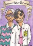 Cecil and Kevin: Goodnight, Night Vale, goodnight by The-IceKat