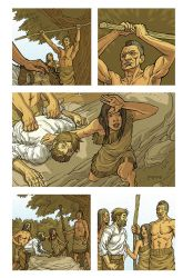 Pocahontas and John Smith Page 11 Colors by JerMohler