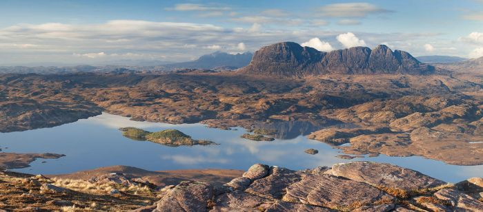 Suilven from Stac Pollaidh by Alex37
