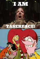 The Eds laughing at Taserface by Negaboss2000