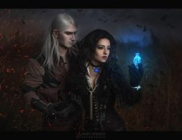 The Witcher - Geralt and Yen by Almost-Human-Cosband