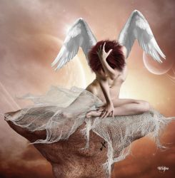 Angel of Sorrow by Wildfire2003