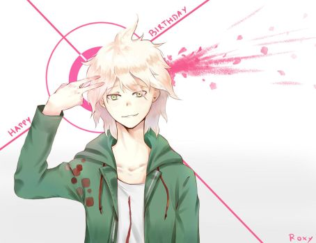 Happy Birthday Nagito ~ by RoxyErel