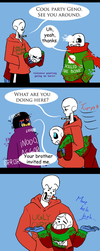 Undertale CPAU: 8 - Past come to take you home by IvyLeafTea