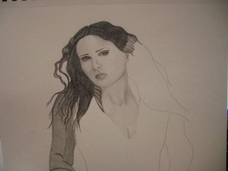 WIP Sharon Den Adel by SlinkyInk