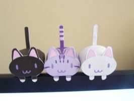 Papercraft Cats by The--Unseen