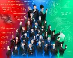 The Mathematicians by Angelus-Tenebrae