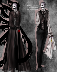 [ CP / SLENDERVERSE ] Boogeyman's design by LiaWorlds