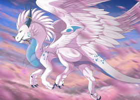 The dragon of love by Anais-thunder-pen