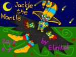 Jackle The Mantle(Mouse Drawing) by Elinital