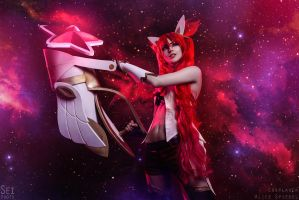 Starguardian JINX cosplay by MightyRaccoon by LetzteSchatten-stock
