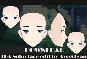 TDA Male face edit by AyogiTyan [DOWNLOAD] by AyogiTyan