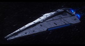 Imperial Star Destroyer by AdamKop