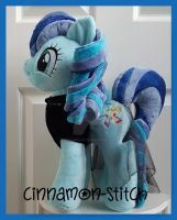 mlp plushie commission RARA/Coloratura by CINNAMON-STITCH