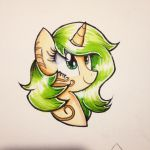 Lemon Lime Headshot by CrystalizedFlames