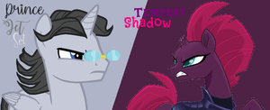 Prince Jet Set vs Tempest Shadow by nalaaashy