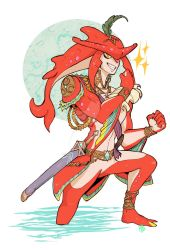 Sidon BOTW by FeatherNotes