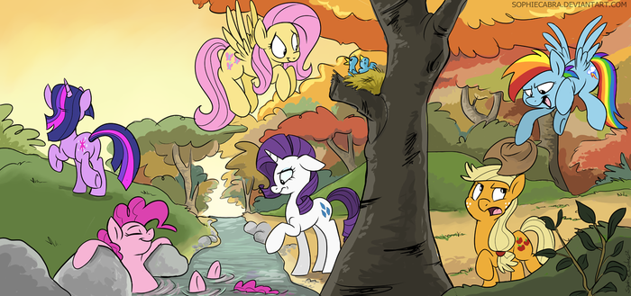 Hike in the Woods by SpainFischer