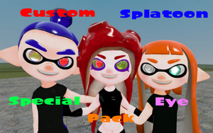 Custom Splatoon Special Eyes Pack [DOWNLOAD] by DarkMario2
