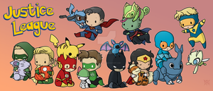 Justice League Pokemon