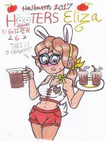 Halloween 2017: Hooters Eliza by gilster262