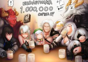 [Drake-NieR] Automata 1M Commemoration! by 2Unkown2Know