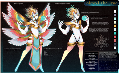 [Design] Mystery Result - Altyrel The Creation God by Solar-Paragon