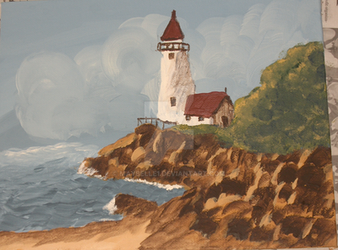 Lighthouse by maybelle1