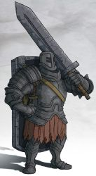 Dark Souls - Black Iron Tarkus by jdeberge