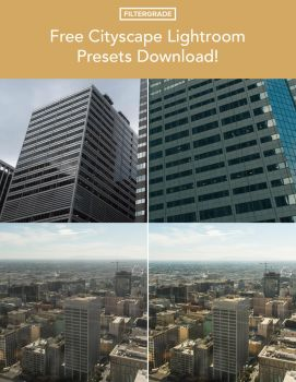 Free Cityscape Lightroom Presets by filtergrade