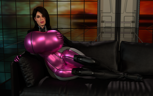 On The Couch (Late 2016 Render Test) by colortwist