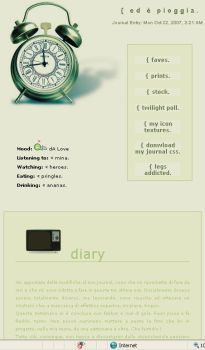 . vintage journal css by Vaniglia-stock