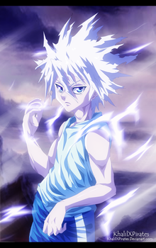 Killua Zoldyck by KhalilXPirates