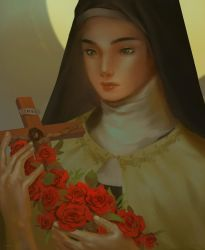 St. Therese of Lisieux by yenbaa