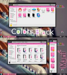 Theme Iconpackager Clors Black by maritzha89