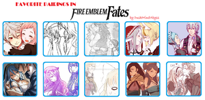 Favorite Pairings in Fire Emblem Fates by DuskMindAbyss