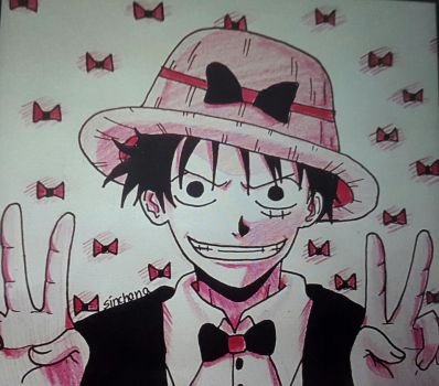 Luffy  by Sinchana-Amasawa