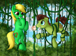 Jungle Heart And Wildlife (Drawn By Awalex) by OptimusV42