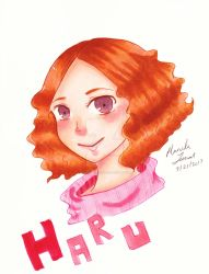 Haru Okumura~ Copic by Animequeen111