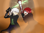 Duel (colored) by EdwardX1