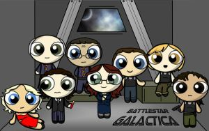 Battlestar Galactica by aliceazzo