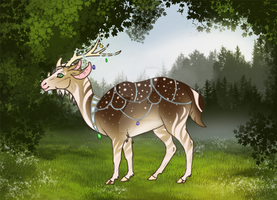 Paypal/point deer auction 1 - [ OPEN ] by TheAdoptArtist