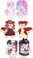 lolita strudel guest adopts | CLOSED | OTA by flvffy
