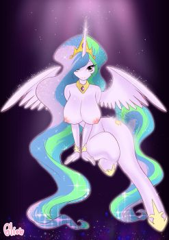 Princess Celestia by Glionart