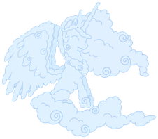 Cloud Celestia Vector by Proenix