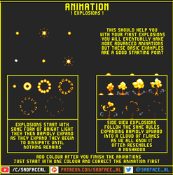 Explosion Animation Tutorial by SadfaceRL