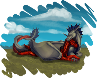 Commission - Snuggle by FireDragon97
